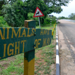 Entrance to South Luangwa National Park