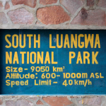 One of 19 National Parks in Zambia