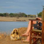Relaxing at the bushcamp