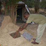 Bushcamp's bread-oven
