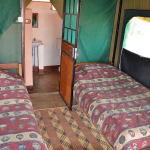 Barefoot-tented camp interior